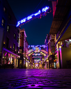 Christmas lights, Carnaby Street