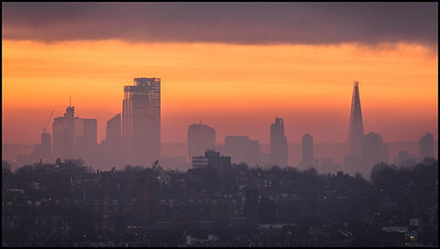 Sunrise from Alexandra Palace