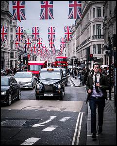 Regent Street rush hour