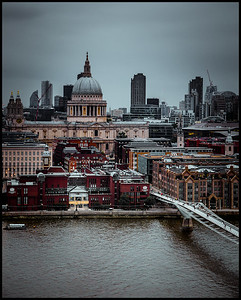 St Paul's Cathedral from the Tate Modern