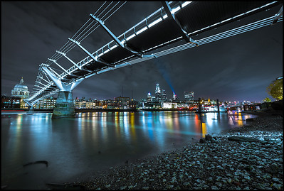 Under the Millennium Bridge, Bankside