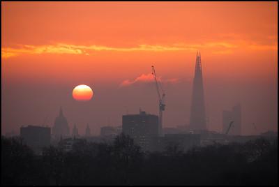 Sunrise from Primrose Hill