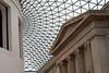 British Museum central interior.