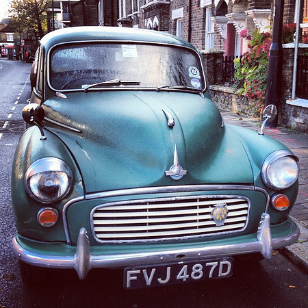A Morris, a fine ride in Queen's Park, #London #autoenvy