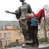 Place Clairefontaine - Statue de la grande-duchesse Charlotte
