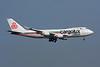 "LX-KCV Boeing 747-4R7F ""Cargolux"" c/n 25868 Hong Kong-Chek Lap Kok/VHHH/HKG 20-11-10 ""ICV c/s"""