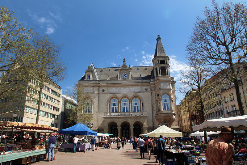 City of Luxembourg, Market Square