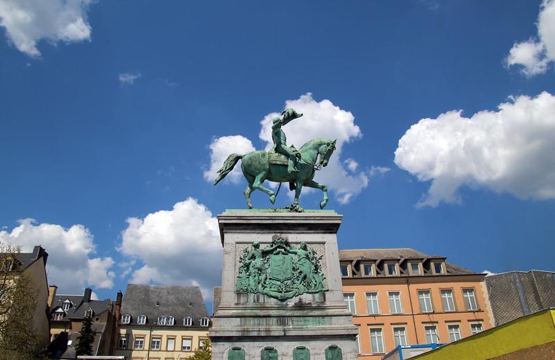 City of Luxembourg, William II Square