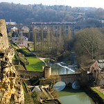 Alzette River Valley – Luxembourg City, Luxembourg – Photo