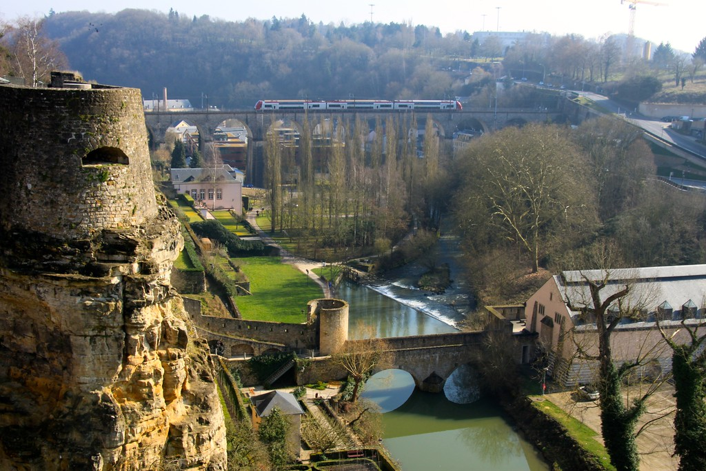 Alzette River Valley - Luxembourg City, Luxembourg - Photo