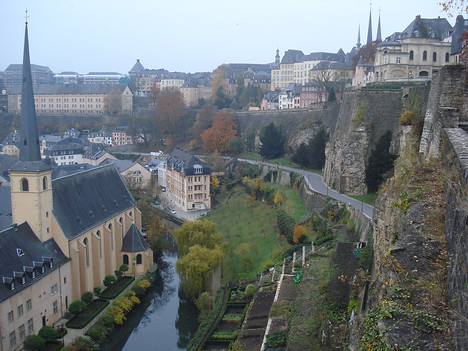 Grund, Luxembourg City - Luxembourg