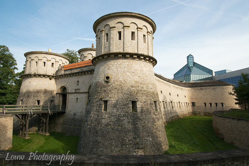 Fort Thüngen, Kirchberg quarter, Luxembourg City