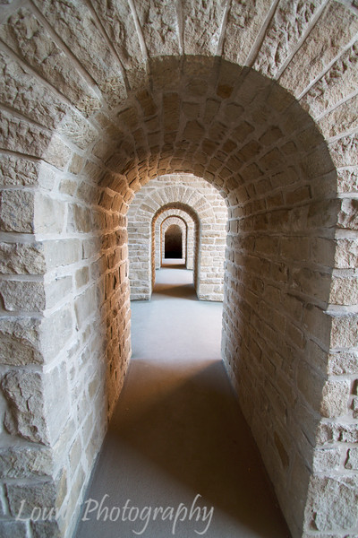 Inside the Bock Casemates, Luxembourg City