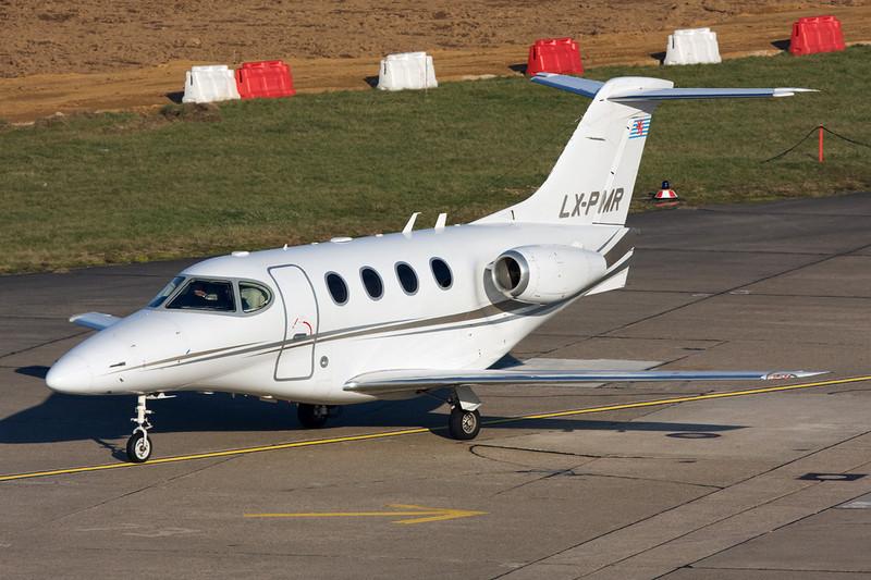 LX-PMR Raytheon 390 Premier I c/n RB-64 Dusseldorf/EDDL/DUS 19-07-12