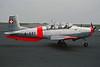 LX-SAS (A-851) Pilatus P.3-05 c/n 489-38 Luxembourg/ELLX/LUX 19-04-97 (35mm slide)