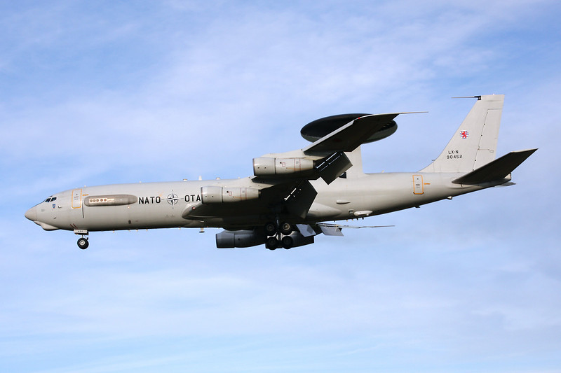"LX-N90452 Boeing E-3A Sentry ""NATO"" c/n 22847 Geilenkirchen/ETNG/GKE 16-12-13"