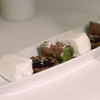 Petit fours with homemade marshmallow, chocolate and  pistachio cannoli, Mosconi, Luxembourg City