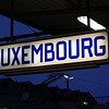 For me, the most boaring Country in the EU. This is the former station sign at Gare de Luxembourg.