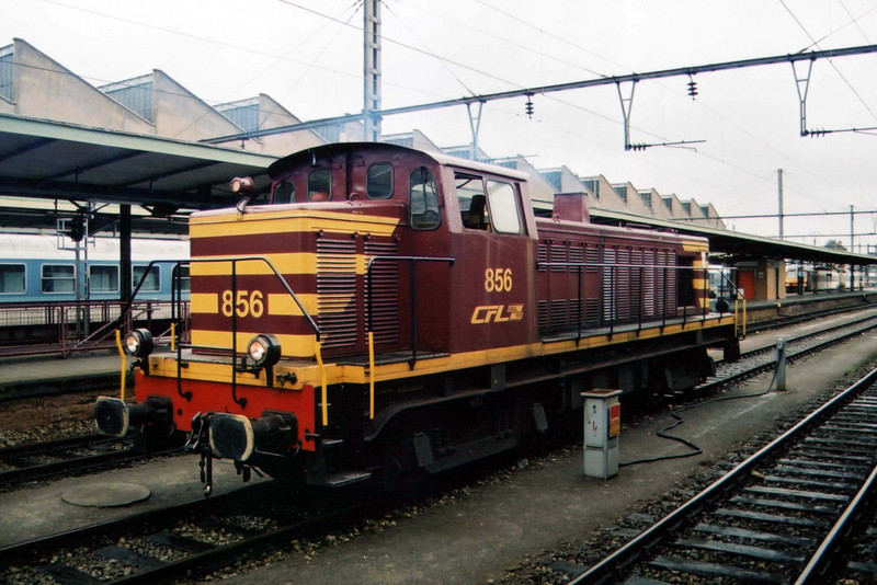 856 at Luxembourg.