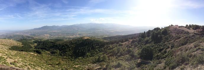 vodno mountain macedonia