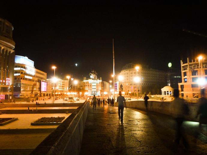 skopje macedonia square