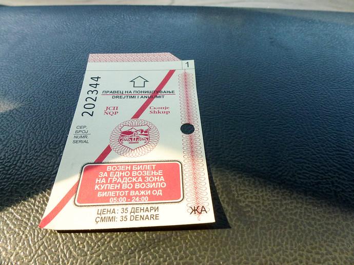 millennium cross bus ticket