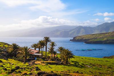 The Center Reception House Sardinha on Madeira island, Portugal