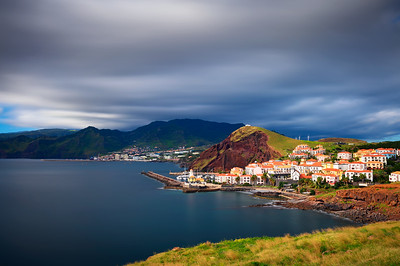 Marina da Quinta Grande located near village of Canical in Madeira, Portugal