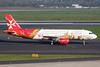 """9H-AEO Airbus A320-214 c/n 2768 Dusseldorf/EDDL/DUS 18-10-15 """"Valletta - European Capital of Culture 2018"""""""