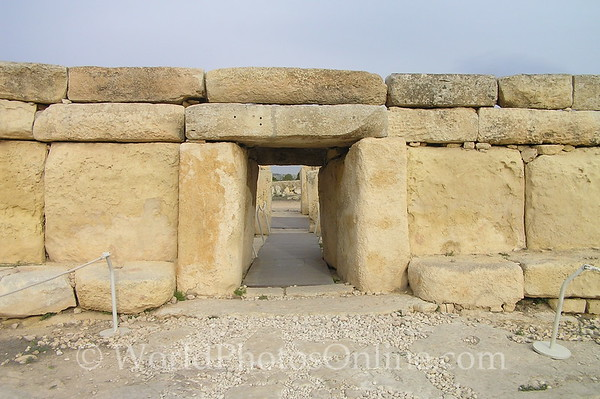 Hagar Qim Temple - Entrance