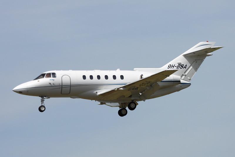 9H-BSA Hawker Siddley 125-750 c/n HB-24 Paris-Le Bourget/LFPB/LBG 10-07-16