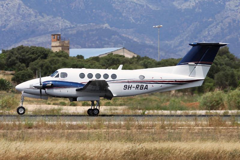9H-RBA Beech B200GT King Air c/n BY-3 Palma/LEPA/PMI 16-06-16