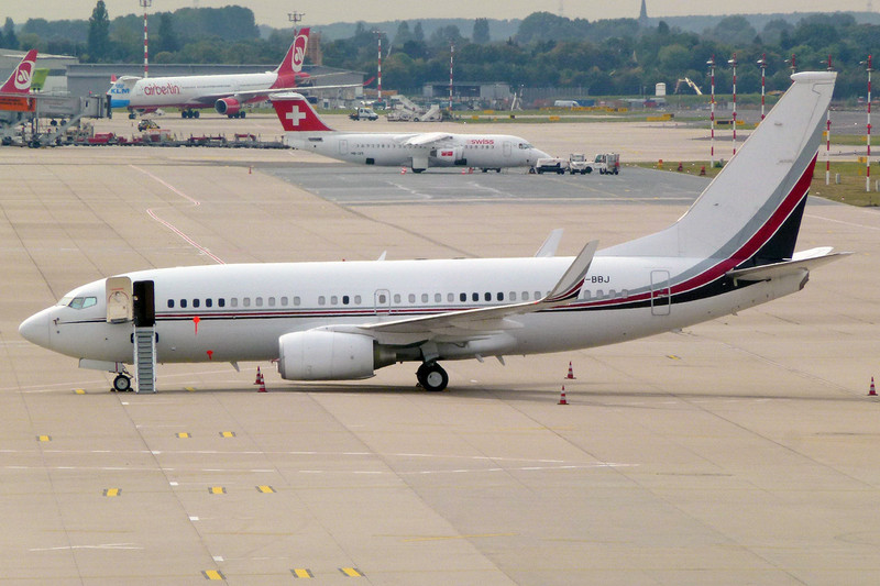 9H-BBJ Boeing 737-7BC c/n 30791 Dusseldorf/EDDL/DUS 21-09-12