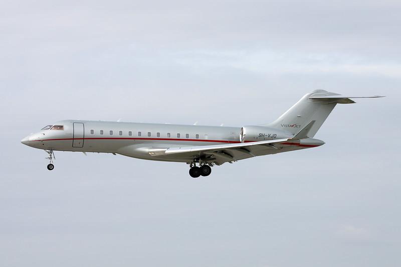 9H-VJO Bombardier Global 6000 c/n 9669 Zurich/LSZH/ZRH 08-09-17