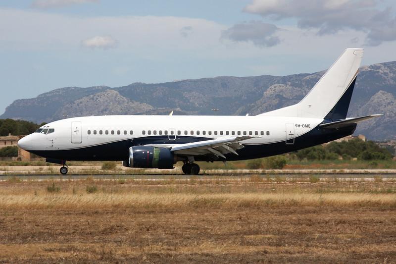"9H-OME Boeing 737-505 ""Air X Charter"" c/n 24274 Palma/LEPA/PMI 16-06-16"