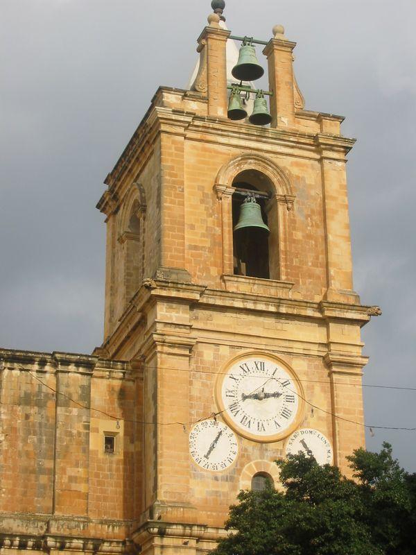 Clock tower, Valletta, Malta