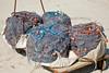 Fishing nets rolled into balls ~ Marsaxlokk Harbor, Malta
