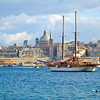 The view of Valletta from Sliema
