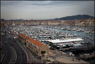 Marseilles harbour