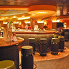 The ship's wine bar