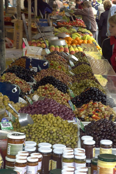 Olives at the Market - Nice, France