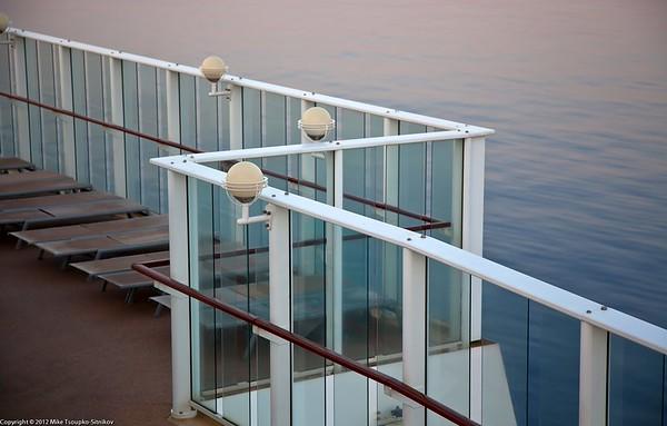 Sun deck - a detail