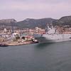 Co 0437 op de boot naar Ajaccio