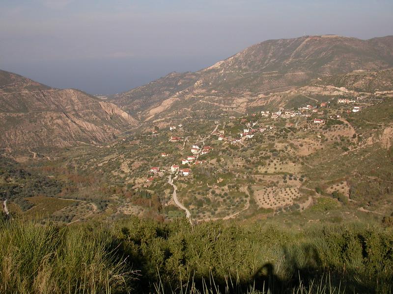 Pe 3498 boven Diakopto