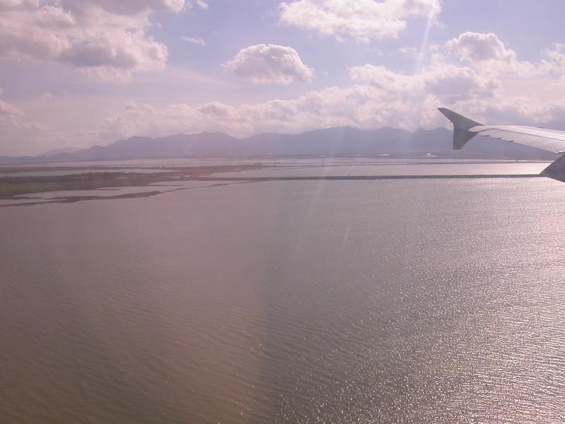 Sa 0001 landing bij Cagliari