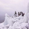 Ice Forms On Lake Superior