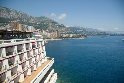 Ocean view from the Monte Carlo Star in Monaco