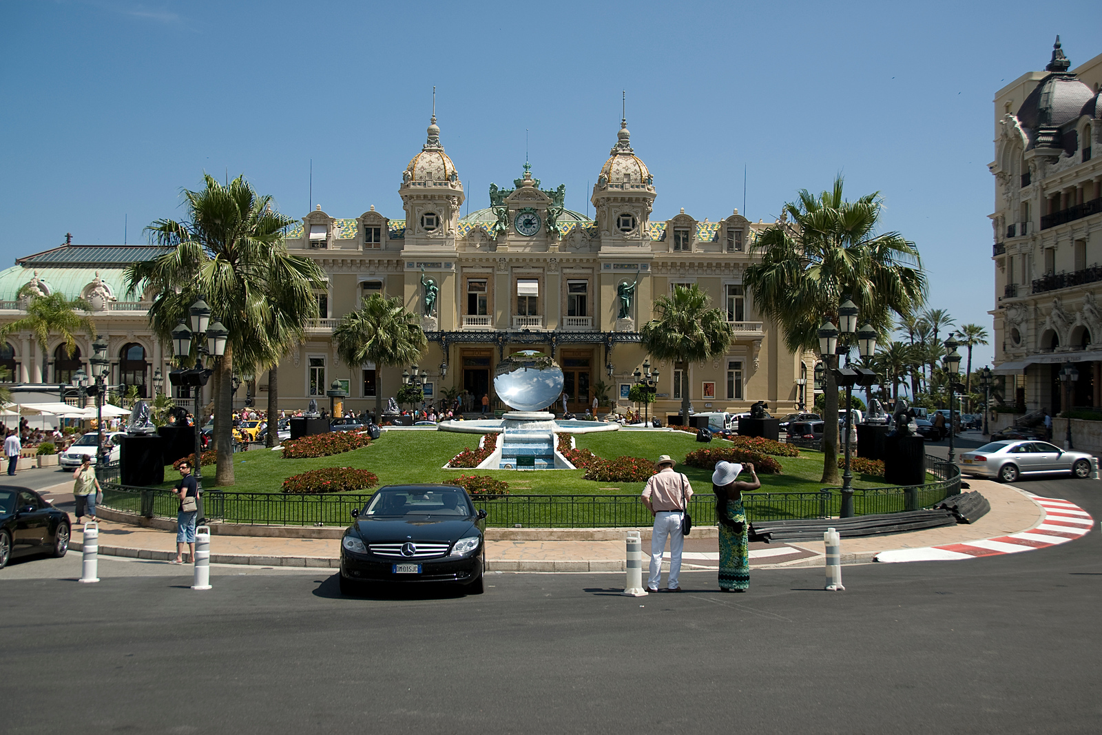The Casino Square Garden in Monte Carlo, Monaco