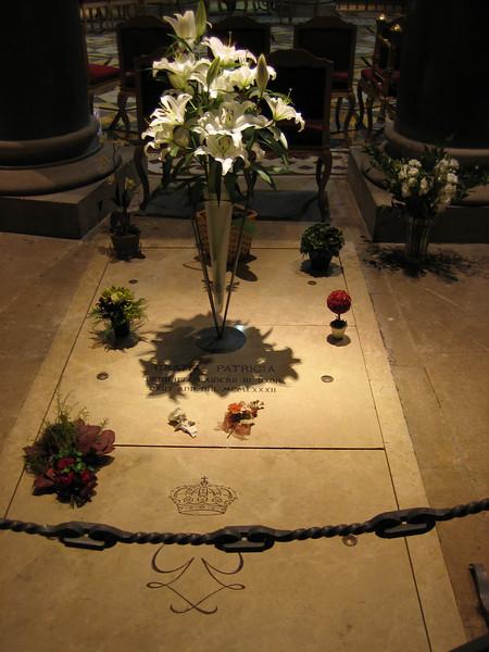 Princess Grace's grave