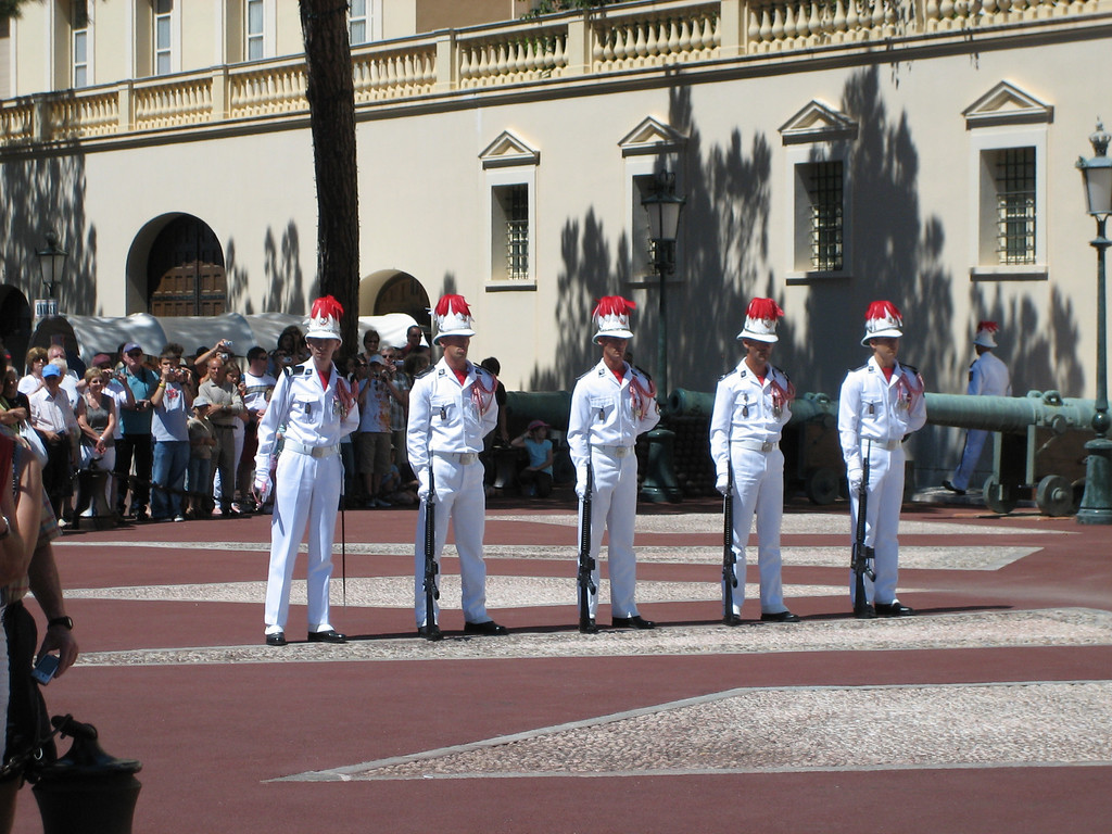 Changing of the Guard - Monte Carlo, Monaco